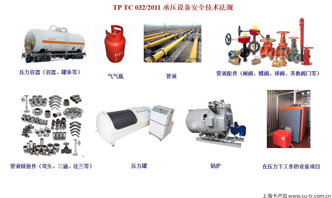 EAC认证之压力容器CU-TR认证 法规 TRCU 032/2013